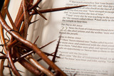 Crown of Thorns & Open Bible