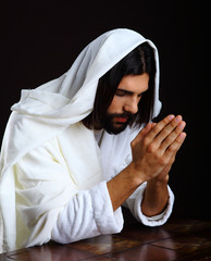 Praying Jesus Christ of Nazareth