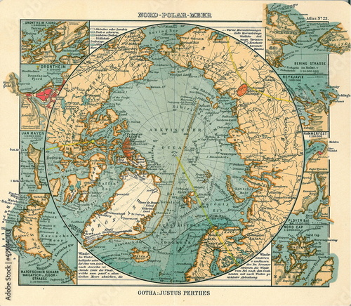 Arctic old map
