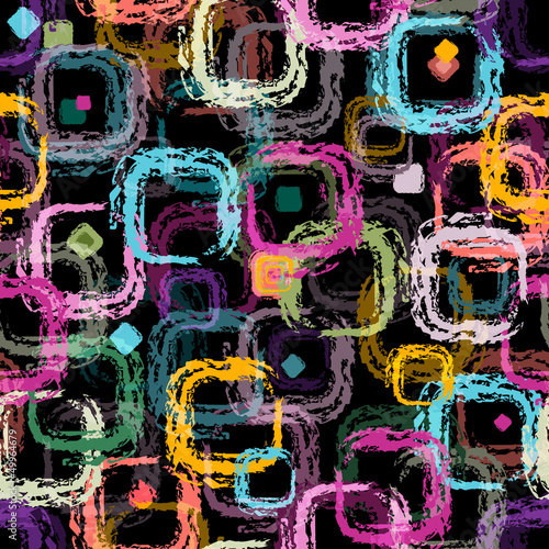 Repeating black pattern