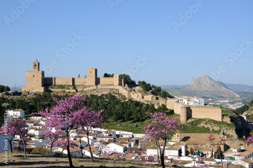 Town and castle, Antequera, Andalusia © Arena Photo UK