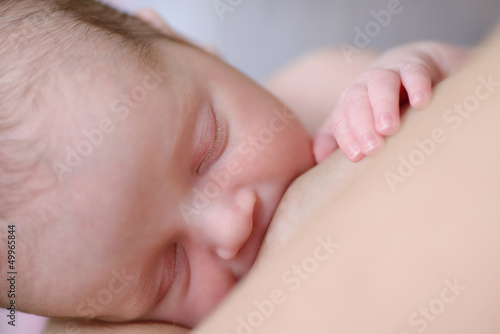 eating newborn