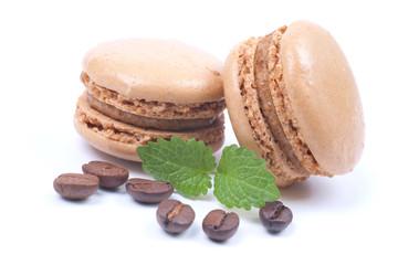 Macarons, Kaffeebohnen