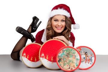 Keksdosen zu Weihnachten