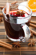 canvas print picture - traditional hot mulled wine