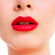 beauty  woman lips