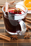 traditional hot mulled wine