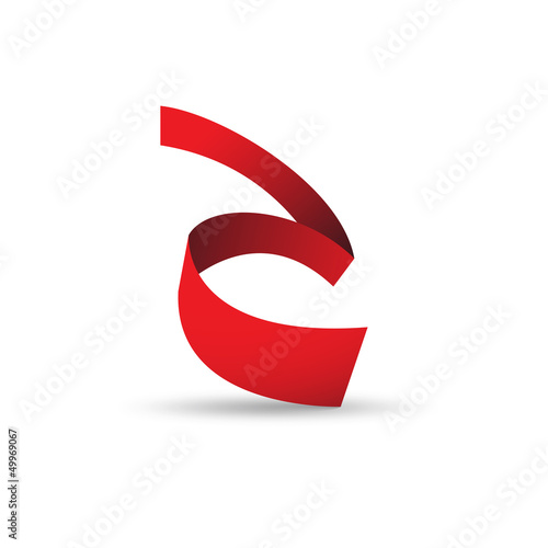 Vector Logo strip letter A