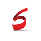 Vector Logo strip letter S