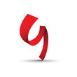 Vector Logo strip letter G