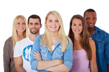 Gruppe Jugendlicher