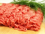 Minced meat, close up