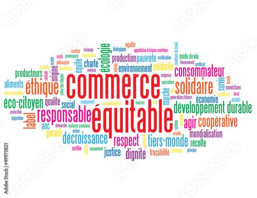 Nuage de Tags COMMERCE EQUITABLE (solidaire éthique responsable)