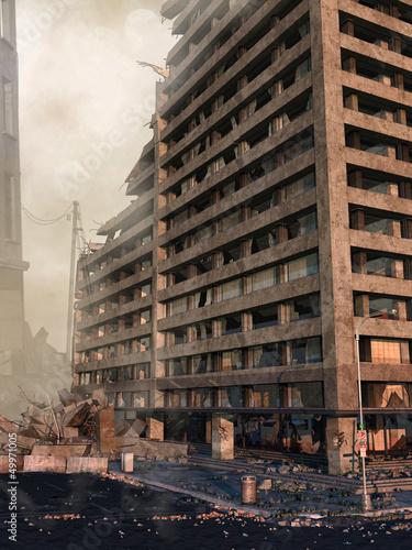 Ruiny wieżowca
