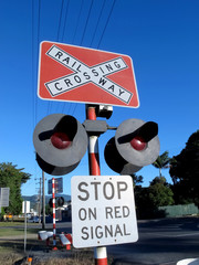 Railway Stop Sign 2