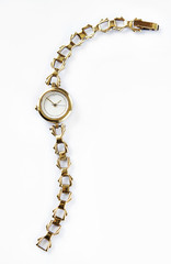 Female retro wrist watch