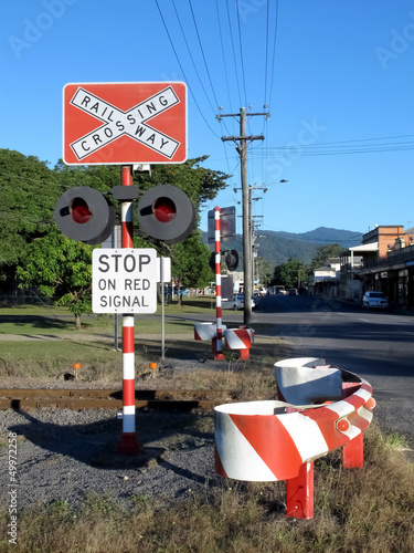 Railway Stop Sign 1