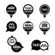 Taxi - set emblems