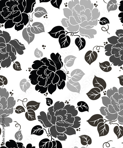 Seamless Floral-Wallpaper