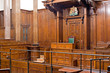 View of Crown Court room inside St Georges Hall, Liverpool, UK - 49975233