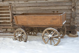Russian traditional cart