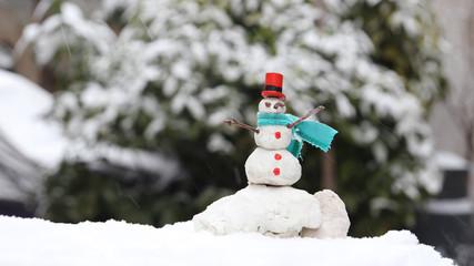 snowman miniature