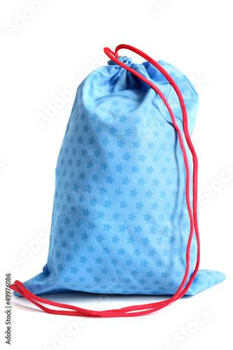 Blue bag for footwear - 49976086