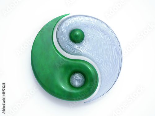 canvas print picture Yin Yang #25