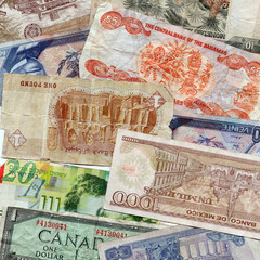 Foreign Currency Assorted Bills
