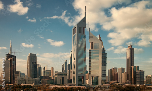 Skyscrapers of Dubai Skyline