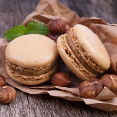 Macarons, Haselnuss