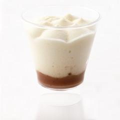 Dessert vanille crème de marron