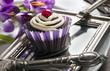Cupcake nostalgisch dekoriert