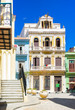 Typical colorful buildings in Old Havana