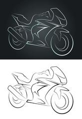 Tracé moto