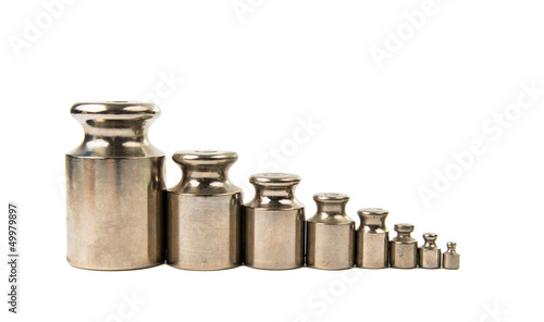 Calibration weight silver