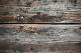 rough wooden planks