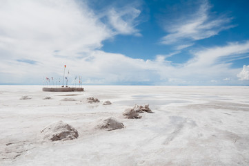 Salt flat of Uyuni (Bolivia)