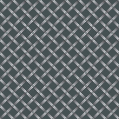 seamless steel grating pattern with screws