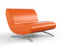 Big Orange Chair