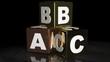 ABC metallic cubes