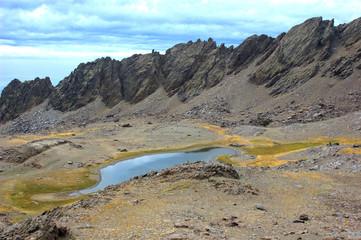 Laguna de Río seco en Sierra Nevada,Granada.España