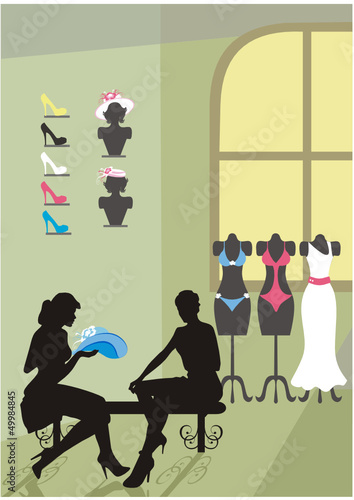 clothing salon