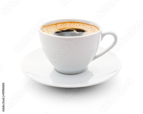 Tuinposter Koffie cup of coffee