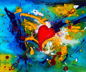 abstract painting 34