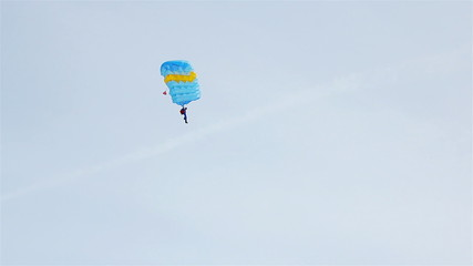 Skydiving, skydiver, 1080p