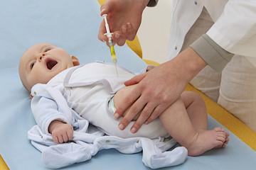 Vaccination d'un nourrisson