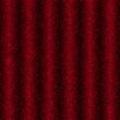 красная ткань в складках