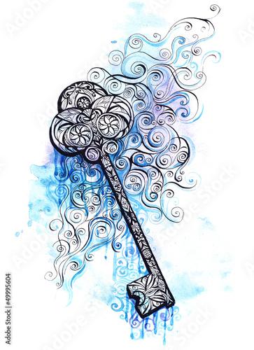 ornate key © okalinichenko