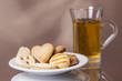 delicious cookies with fresh tea 2